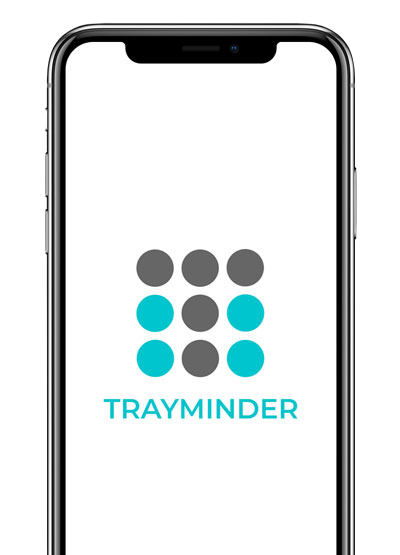 Download TrayMinder <br>For IOS or Android devices
